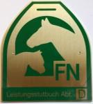 Zuchtstute Daily-Joy mit dem FN-Leistungsstutbuch / D ausgezeichnet!